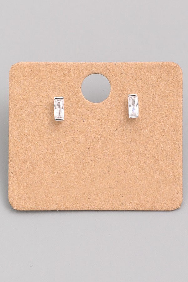 Rectangle Stud Earrings - Online Clothing Boutique