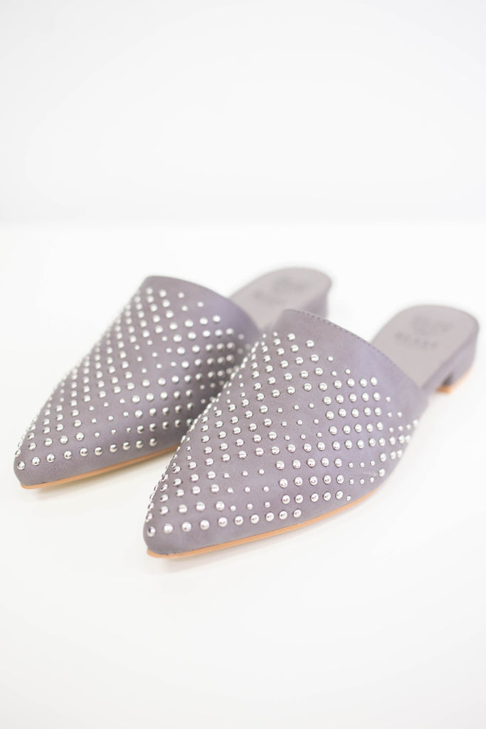 Studded Mules - Online Clothing Boutique