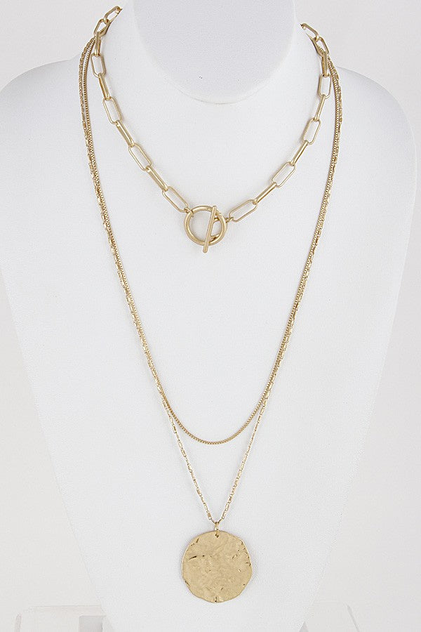 Varied Layered Necklace - Online Clothing Boutique