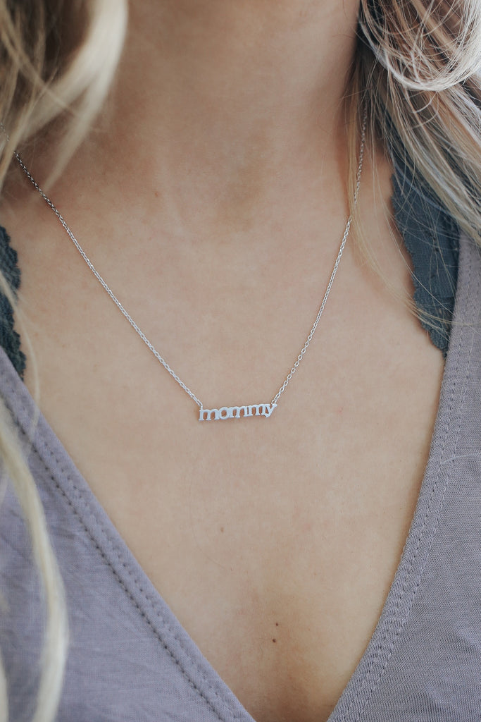 Mommy necklace online clothing boutique aloadofball Choice Image