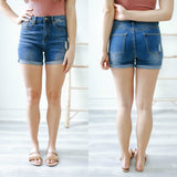 Distressed Denim Shorts - Online Clothing Boutique
