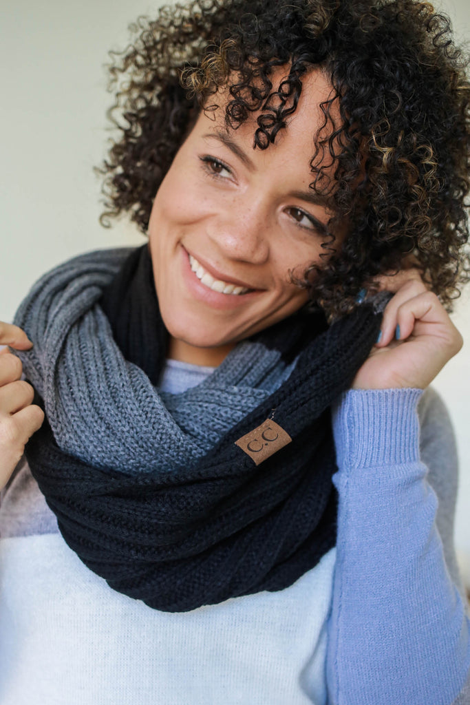 Knit Infinity Scarf - Online Clothing Boutique