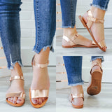 BIGBOSS Rose Gold Sandals - Online Clothing Boutique