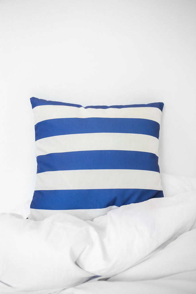 Striped Printed Pillow Case - Online Clothing Boutique