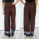 Printed Palazzo Pants - Online Clothing Boutique