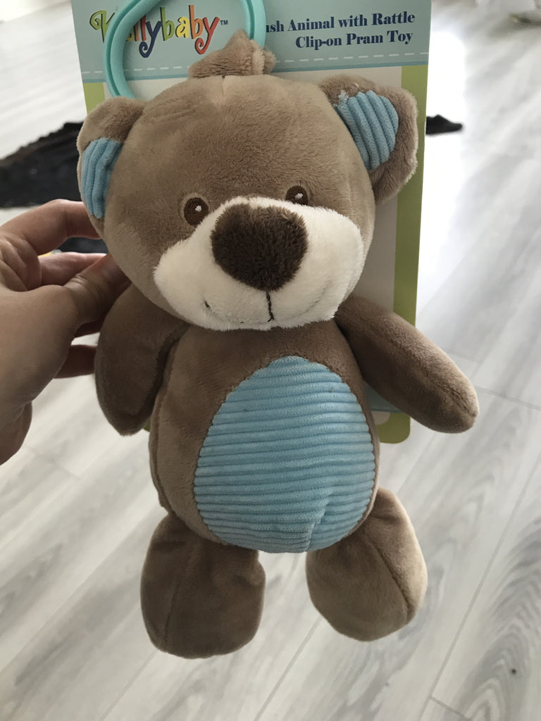 Cuddle Bear Baby Pram Toy