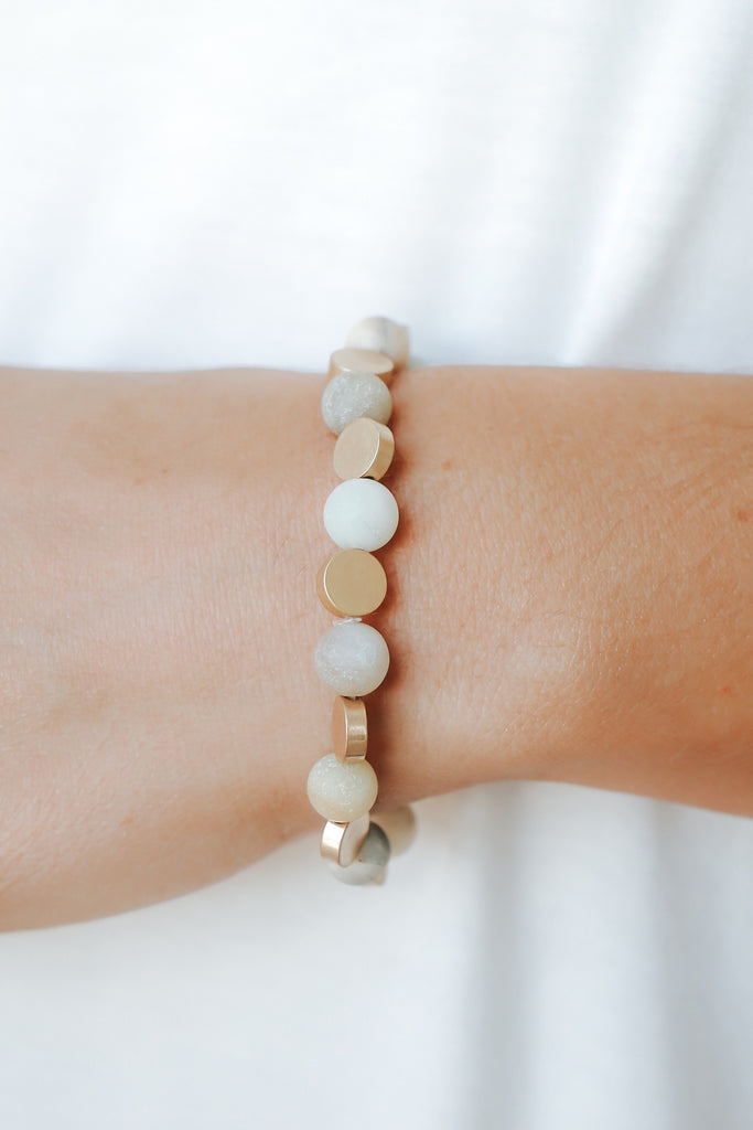 Boho Stone Bracelet - Online Clothing Boutique