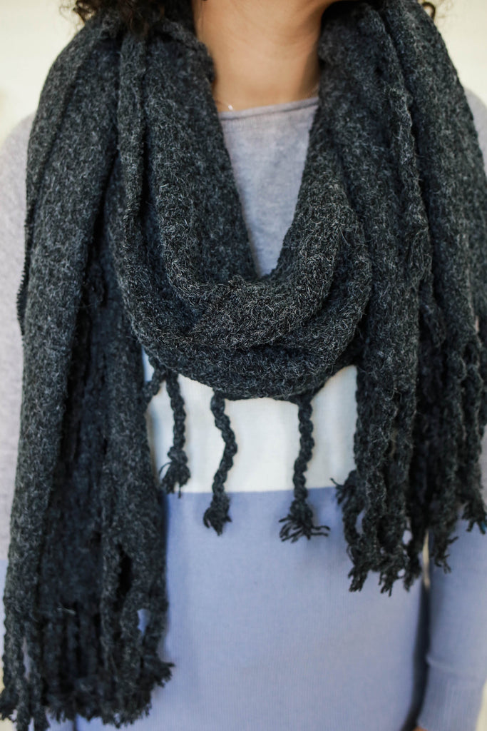 Oversized Blanket Scarf - Online Clothing Boutique