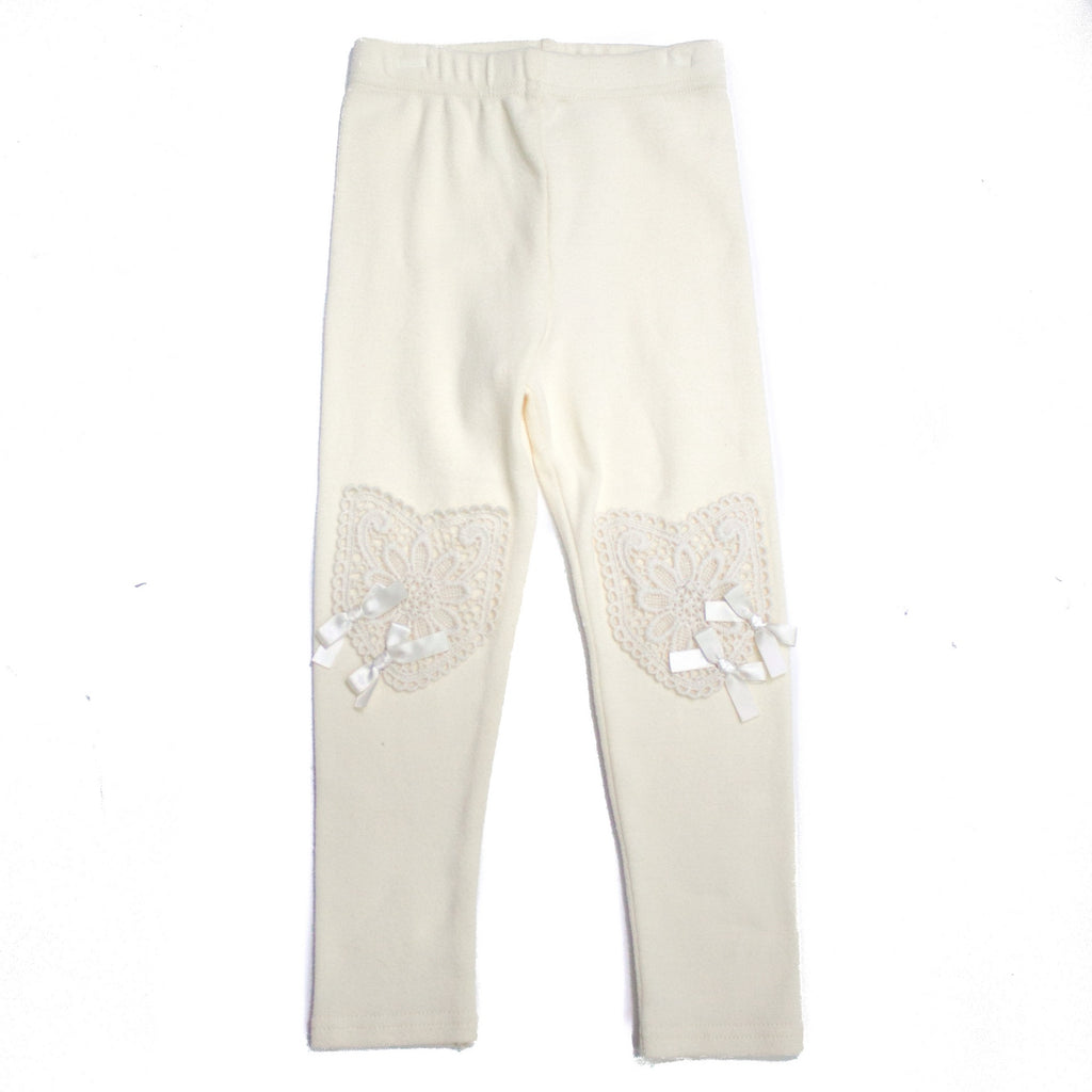 Little Lady Leggings - Ivory