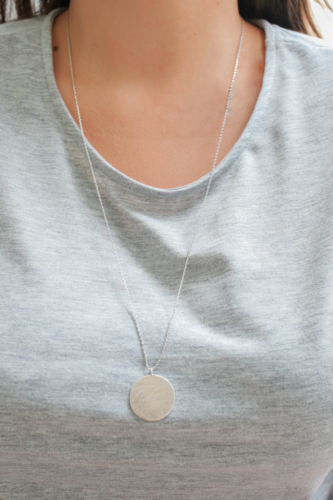 Circle Necklace - Online Clothing Boutique