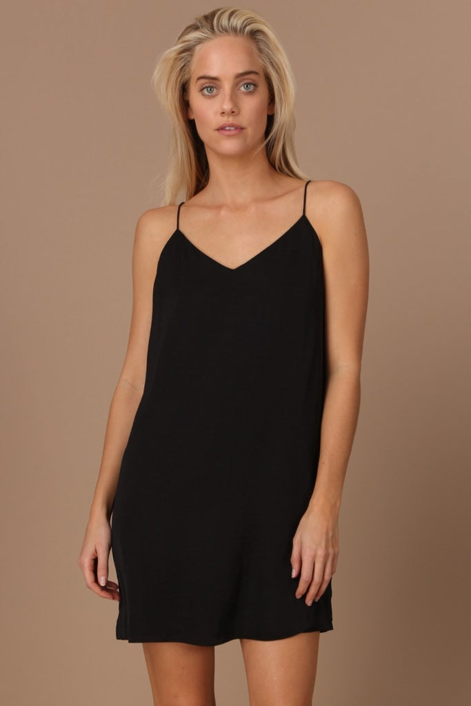 Silky Dress - Online Clothing Boutique