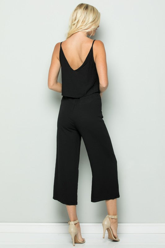 Two Piece Jumpsuit - Online Clothing Boutique