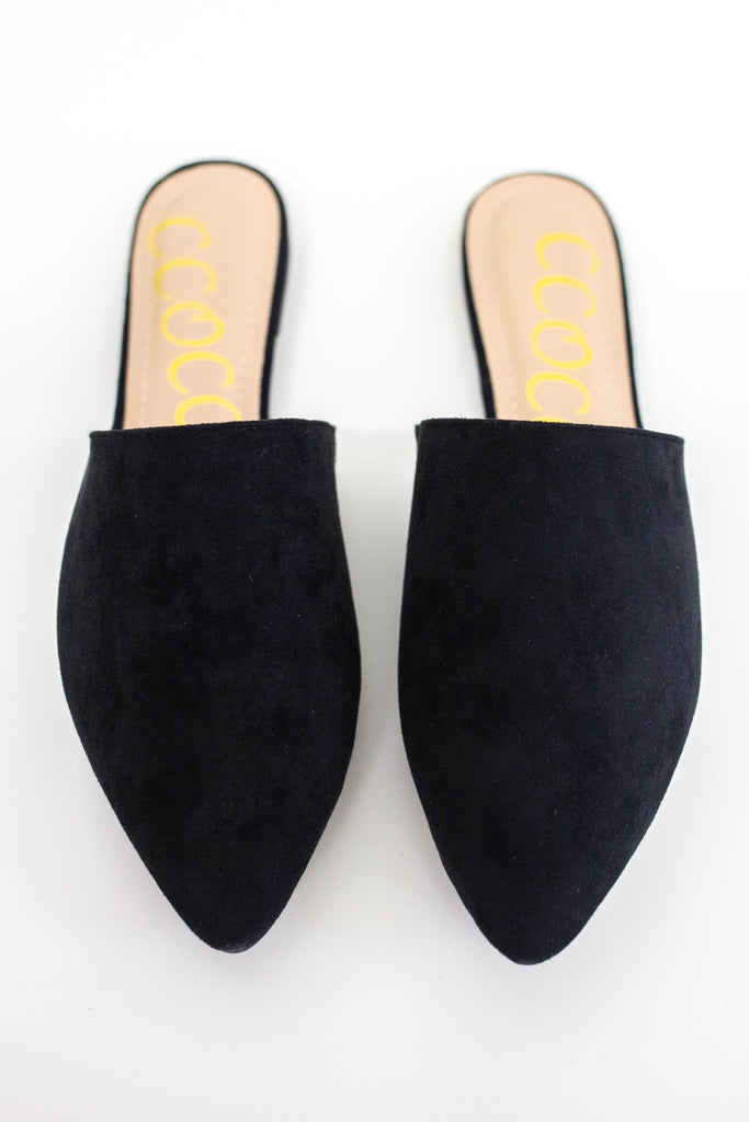 Pointed Toe Mules - Online Clothing Boutique