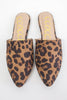 Leopard Mules - Online Clothing Boutique