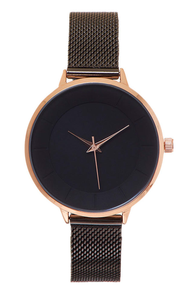 Minimalistic Stainless Steel Watch - Online Clothing Boutique