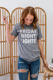 Friday Night Lights Graphic Tee | Stylish & Affordable | UOI Online