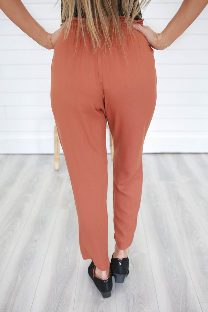 Twill Pants - Online Clothing Boutique