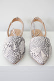 Snakeskin Flats - Online Clothing Boutique
