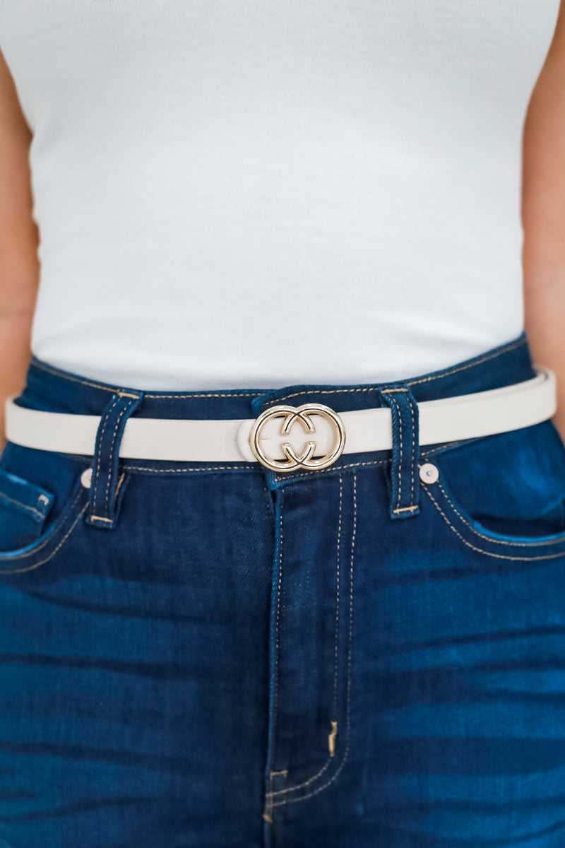 Faux Leather Skinny Belt | Stylish & Affordable | UOI Online
