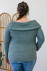 Plus Size Off The Shoulder Sweater | Stylish & Affordable | UOI Online