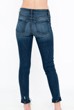High Rise Dark Wash Denim - Online Clothing Boutique