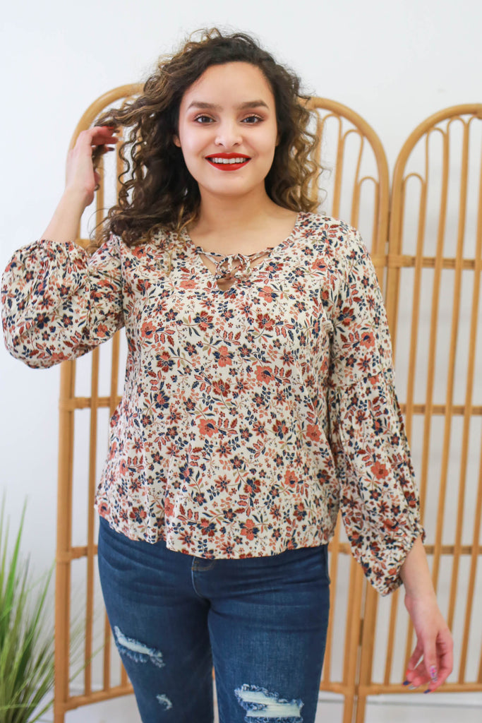 Floral Top | Stylish & Affordable | UOI Online