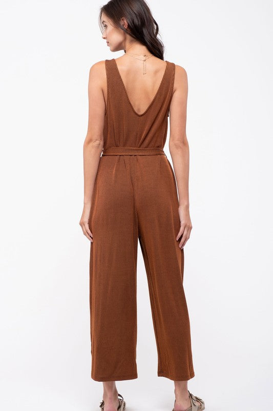 Ribbed Knit Jumpsuit | Stylish & Affordable | UOI Online