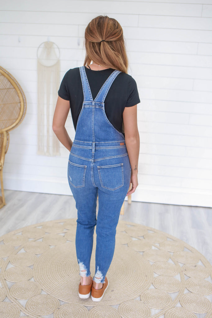 Denim Overalls - Online Clothing Boutique
