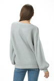 Balloon Sleeve Sweater - Online Clothing Boutique