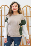 Color Block Top | Stylish & Affordable | UOI Online