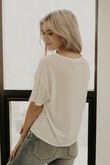 Short Sleeve Boxy Fit Basic Tee | Stylish & Affordable | UOI Online