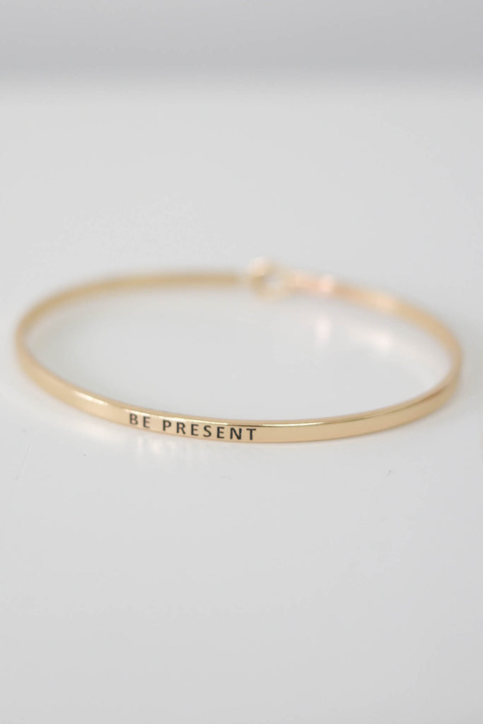 Be Present Bracelet - Online Clothing Boutique