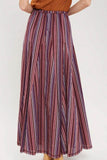 Striped Maxi Skirt - Online Clothing Boutique