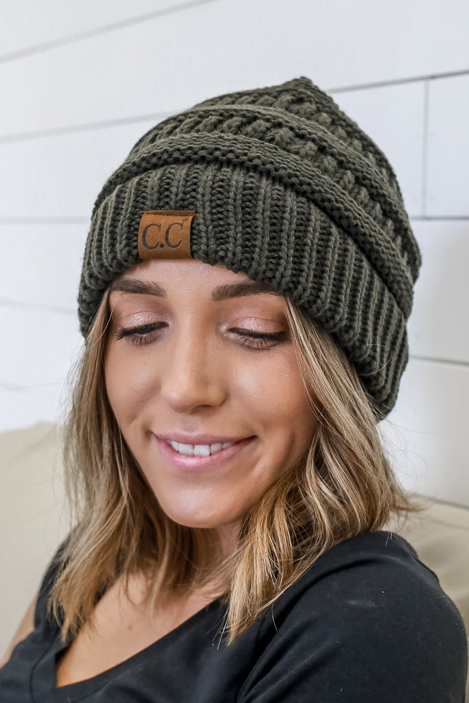 Messy Bun Beanie | Stylish & Affordable | UOI Online