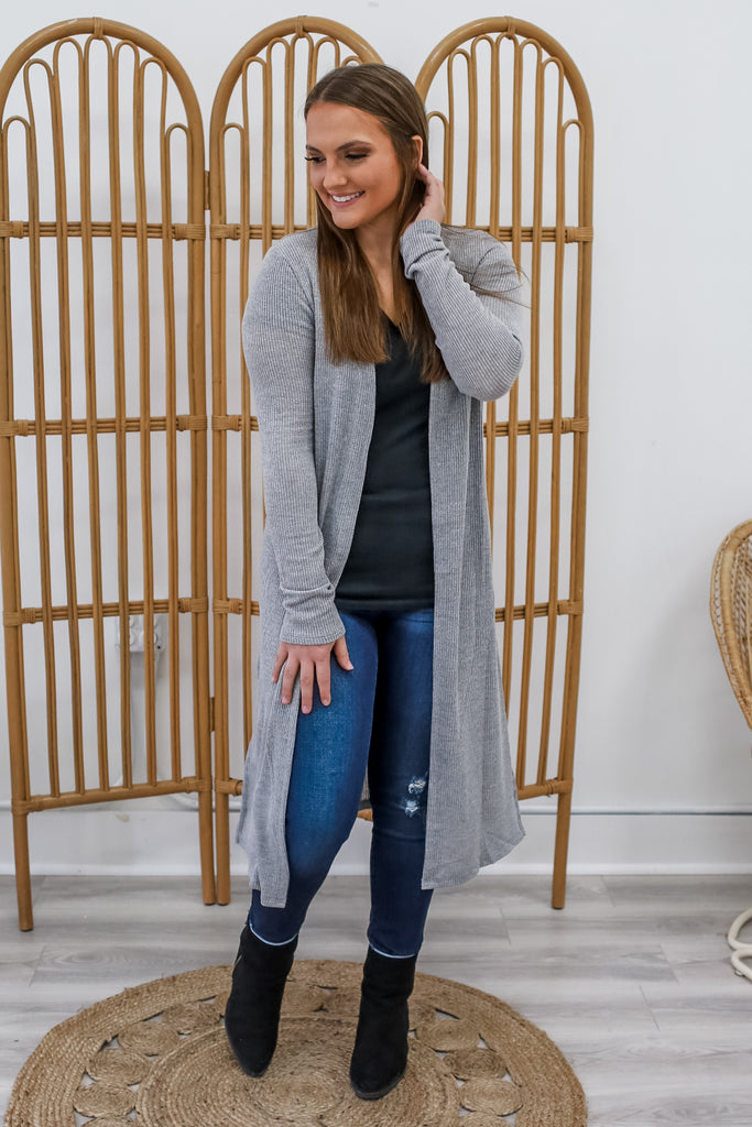 Waffle Knit Cardigan | Stylish & Affordable | UOI Online
