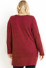 Plus Size Knit Top - Online Clothing Boutique