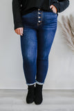 Super High Rise Distressed Plus Skinny Jeans | Stylish & Affordable | UOI Online