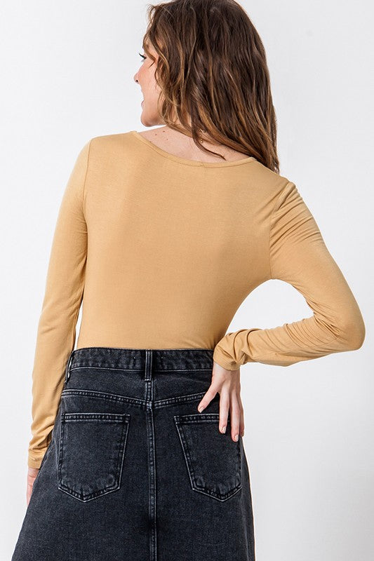 Long Sleeve Bodysuit | Stylish & Affordable | UOI Online