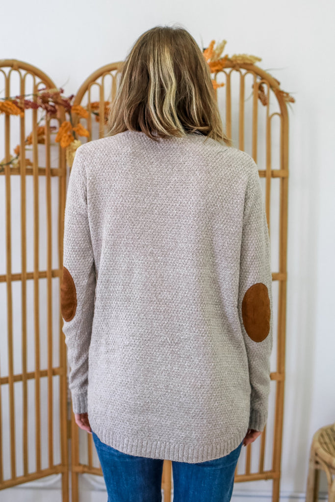 Elbow Patch Sweater | Stylish & Affordable | UOI Online