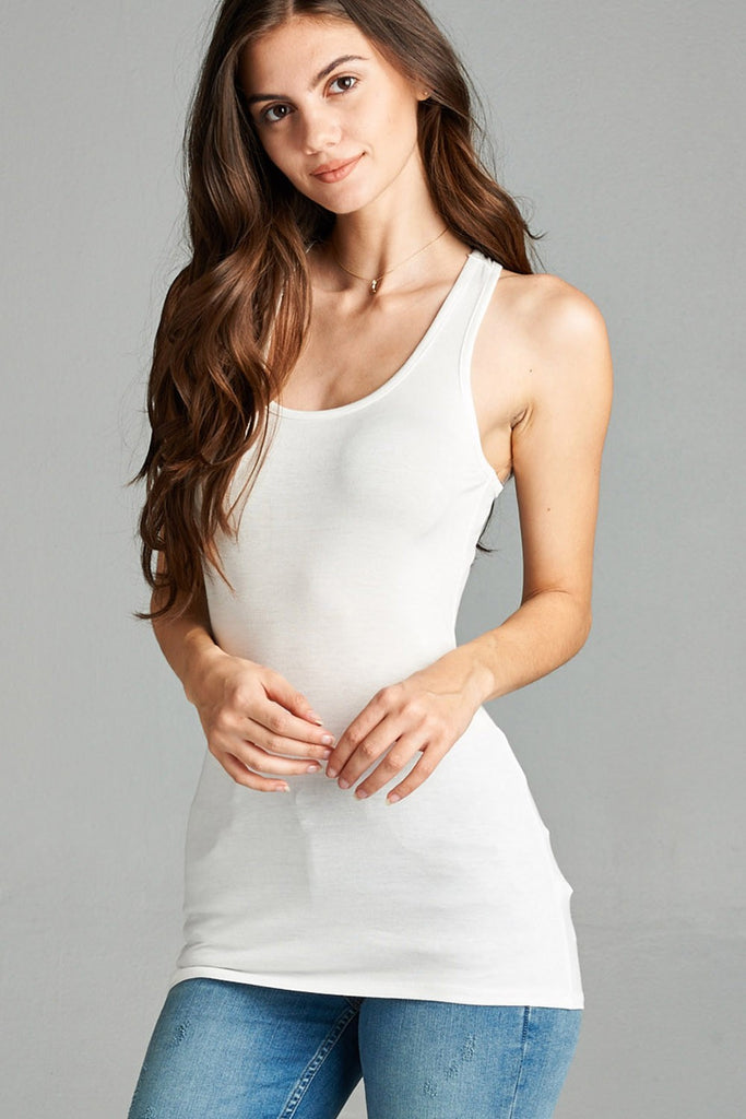 Basic Racerback Tank - Online Clothing Boutique