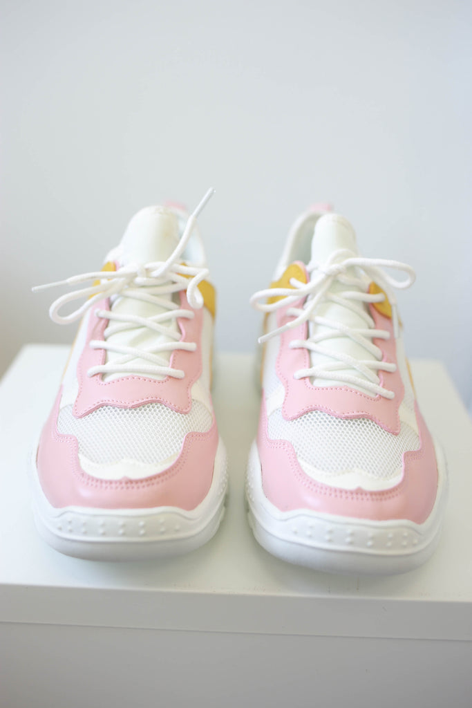 Lace-Up Sneakers - Online Clothing Boutique