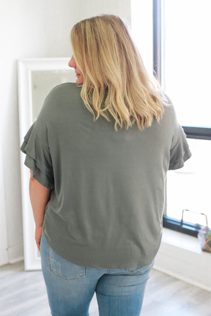 Plus Size Top - Online Clothing Boutique
