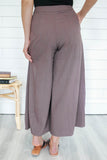 Cropped Wide Leg Pants - Online Clothing Boutique