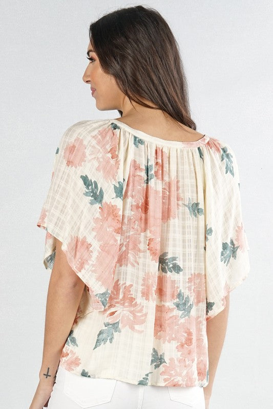 Floral Print Top | Stylish & Affordable | UOI Online