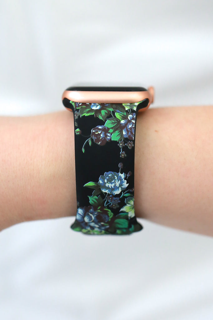Floral Apple Watch Band - Online Clothing Boutique