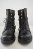 Faux Leather Combat Boots | Stylish & Affordable | UOI Online