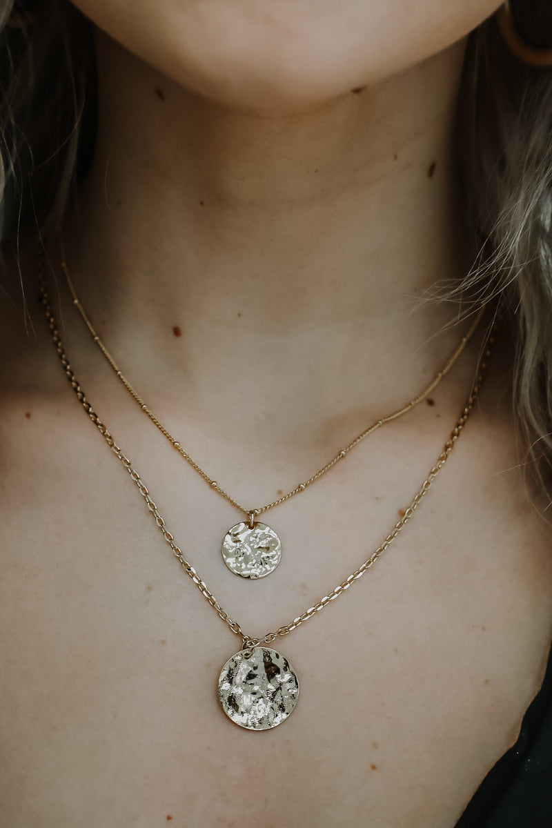 Multi Chain Layered Pendant Necklace | Stylish & Affordable | UOI Online