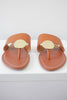 Faux Leather Sandals - Online Clothing Boutique