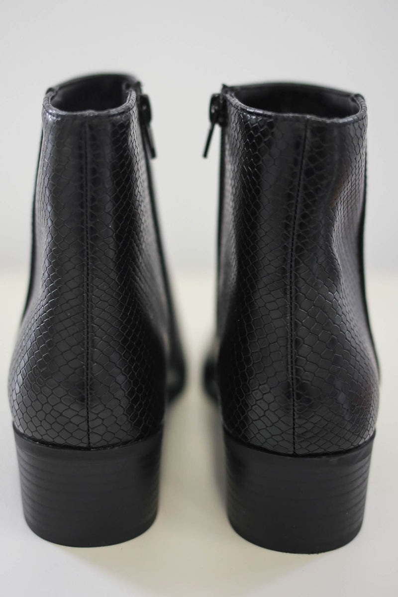Snakeskin Booties | Stylish & Affordable | UOI Online
