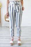 Striped Linen Pants | Stylish & Affordable | UOI Online